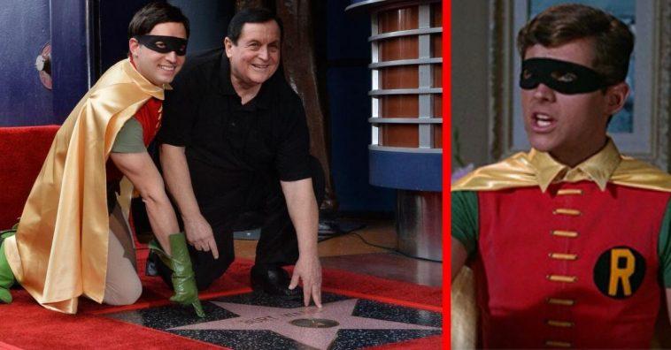 Burt Ward Receives Hollywood Walk Of Fame Star Next To Adam West