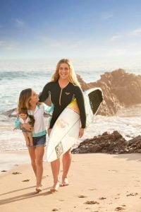 Caroline Marks, part of Team USA's debut into surfing at the Olympics, is supporting fellow surfer Joss Kendrick