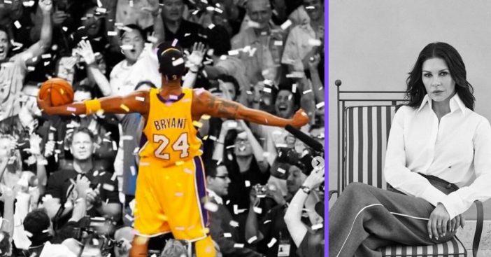 Catherine Zeta Jones shares a memory of being Kobe Bryants neighbor