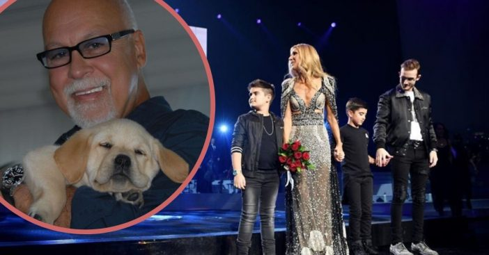 Celine Dion pays tribute to late husband René Angélil on the anniversary of his death