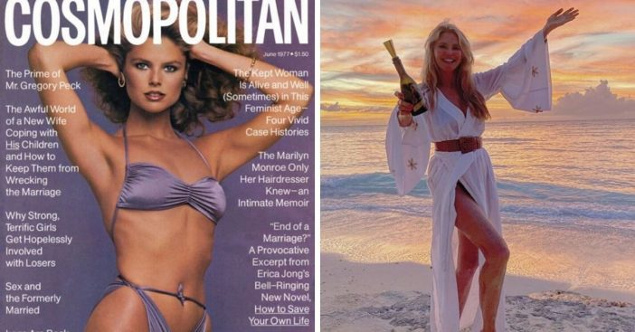 Christie Brinkley shares story about controversial 1977 bikini cover