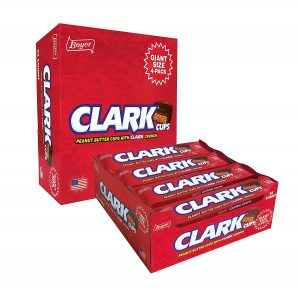 Clark Bars that didn't come out quite right helped inspire the Clark Cups