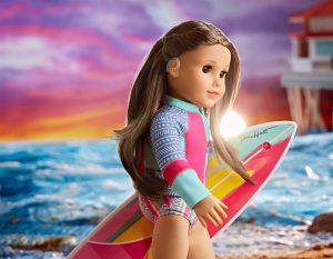 Deaf surfer Joss Kendrick is American Girl's 202 Girl of the Year