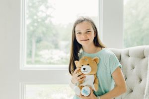 Ella encouraged her family to develop the Medi Teddy and it has grown exponentially