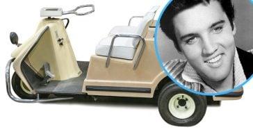Elvis Presley Harley Davidson golf cart is up for auction