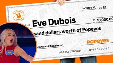 Family Feud Canada contestant wins big from Popeyes
