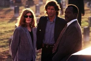 Fisher became crucial in adding another layer of depth to dialogue in Lethal Weapon 3