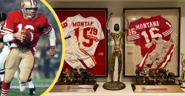 Football legend Joe Montana had the perfect response for all the latest Super Bowl speculation