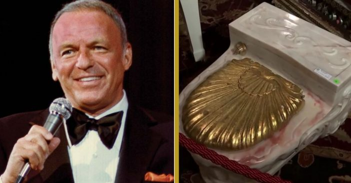 Frank Sinatra's Gold-Seated Toilets Are Now Up For Auction