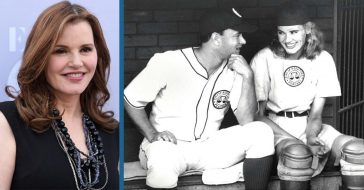 Geena Davis Opens Up About Working With Tom Hanks On 'A League Of Their Own'