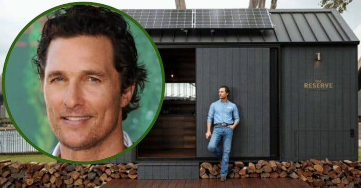 Get An Inside Look At The Eco-Friendly Cabin Designed By Matthew McConaughey
