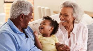 Grandparents can be unwavering with their love when parents have to be strict