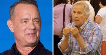 Henry Winkler denies feud with Tom Hanks