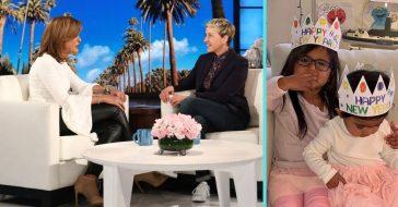 Hoda Kotb reveals she may want more kids on The Ellen DeGeneres Show