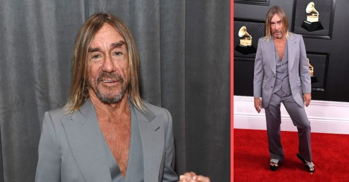 Iggy Pop says he was surprised to win the Grammy Lifetime Achievement Award