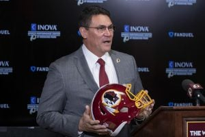 Inspired by his father, Washington Redskins coach Ron Rivera is taking a military veteran to Super Bowl LIV