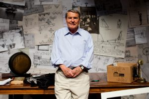 Jim Lehrer in 2013. The member of the PBS staff would serve as an anchor and presidential debate moderator