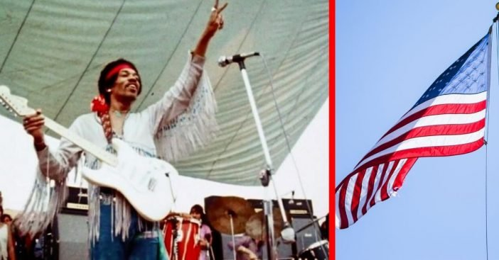 Jimi Hendrix Discusses Why He Played The National Anthem At Woodstock