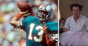 Just when he was about to leave, Carrey convinced Marino to stay on with the movie