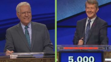 Ken Jennings Says _Ok Boomer_ To Alex Trebek During A Hilarious 'Jeopardy! GOAT'