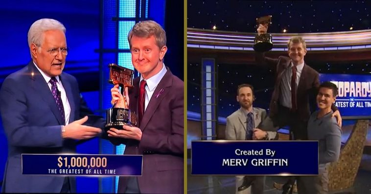 Ken Jennings becomes greatest of all time Jeopardy contestant