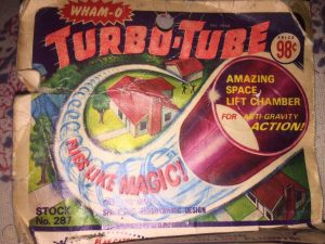 Like the Water Wigglers, the Turbo Tube was an unpredictable Wham-O toy