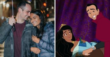 Man proposes to girlfriend with a Sleeping Beauty themed proposal