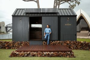 Matthew McConaughey designed this eco-friendly cabin to be totally green and relaxing