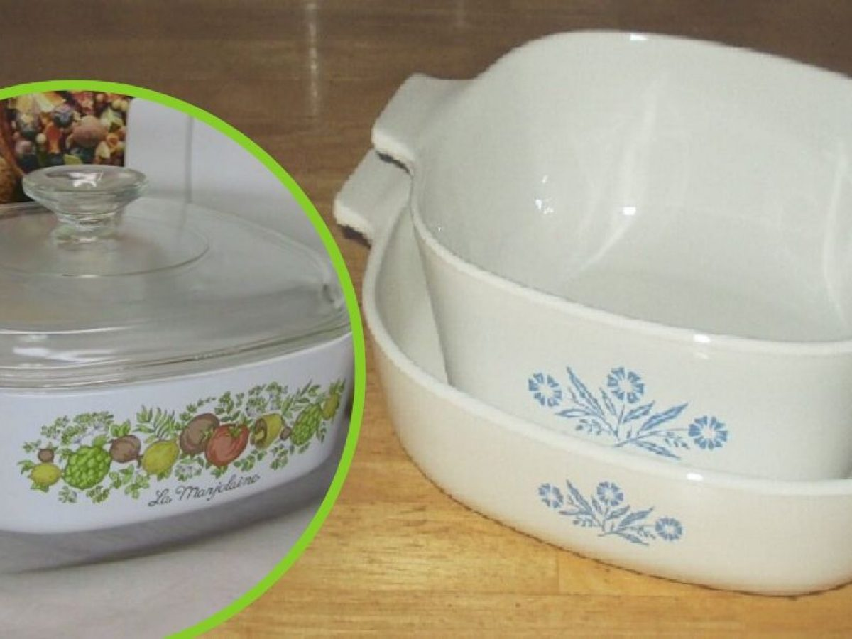 Old CorningWare Dishes From The 6s Could Be Worth Thousands