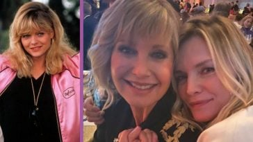 Olivia Newton-John Shares Sweet Photo With 'Grease 2' Star Michelle Pfeiffer (1)