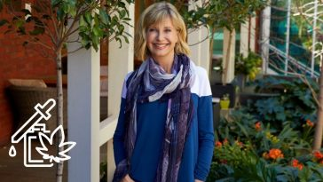Olivia Newton John says her tumors are shrinking