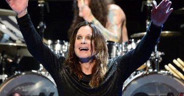 Ozzy Osbourne worries less about death than when he was younger