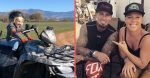Pink and Carey Hart spend a fun day with their family and dirt bikes