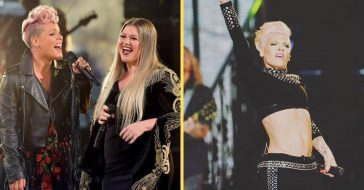 Pink shares her thoughts on aging and Kelly Clarkson agrees