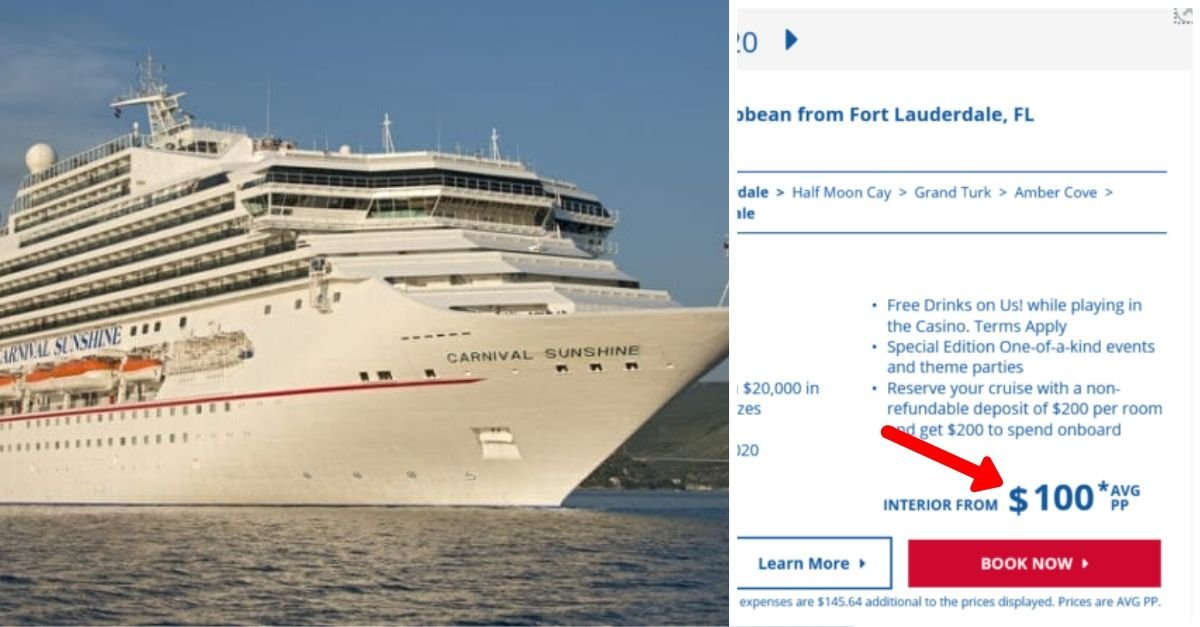 Pricing Glitch At Carnival Cruise Line Results In Super Low Cruise Rates