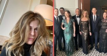 Rita Wilson reveals her hair and makeup team ran very late before Golden Globes