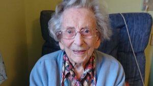 Robson was reportedly the oldest surviving British female World War II veteran