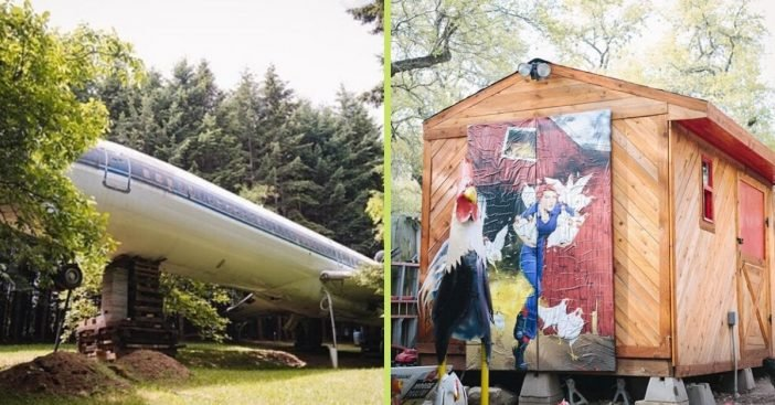 See photos of some of the most unusual homes in the United States