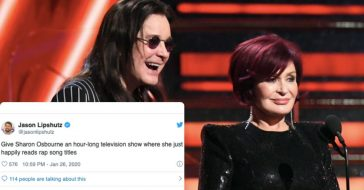 Sharon Osbourne Reading Out Rap Nominations Was The Top Highlight Of The 2020 Grammys