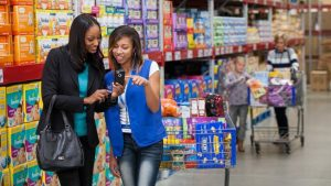 Shopping demographics also depend on location, so this analysis is more of a general look at typical shoppers there