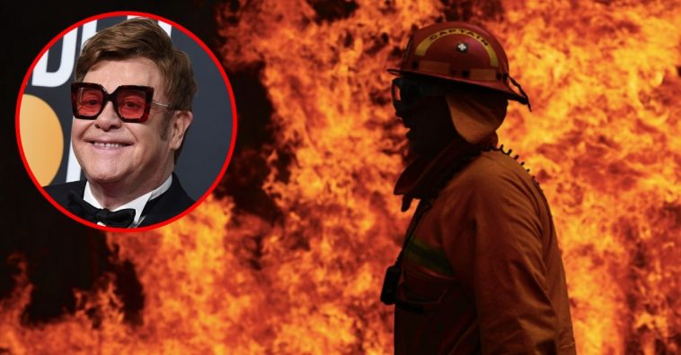 Sir Elton John Pledges $1 Million Towards The Australia Bushfire Crisis