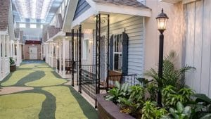 Stepping into Lantern Assisted Living, you might think you're actually still outside