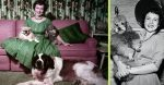 Take A Look At These Rare Photos Of Betty White With Her Dogs At Home In The 1950s