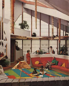 The House of the Future made living easy