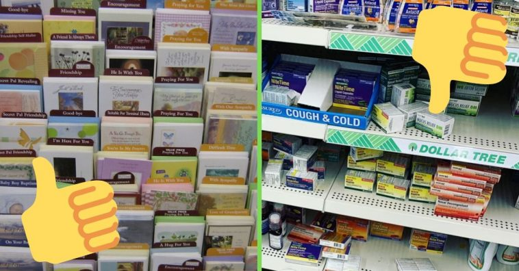 The best and worst things to purchase at the dollar store