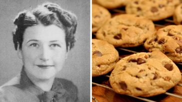 The inventor of the chocolate chip cookie recipe sold it for a lifetime supply of chocolate