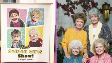 There is now a Golden Girls puppet show on tour