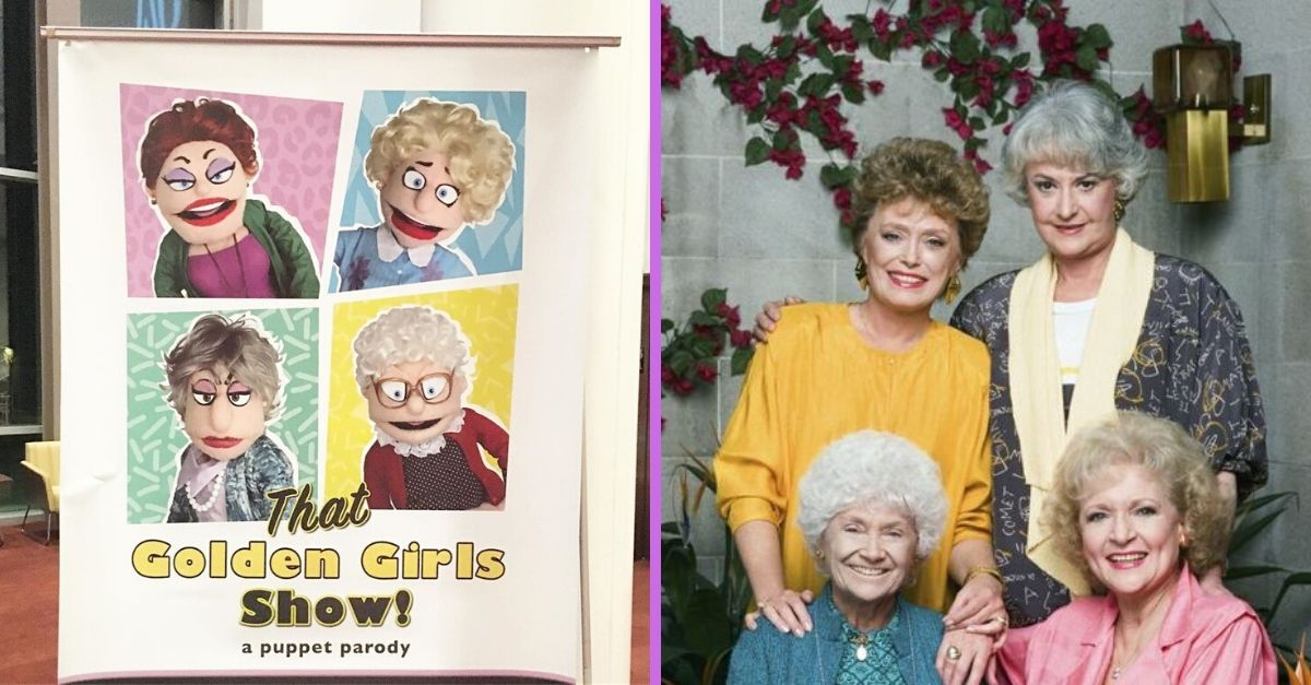 A 'Golden Girls' Live Puppet Show Is Going On Tour