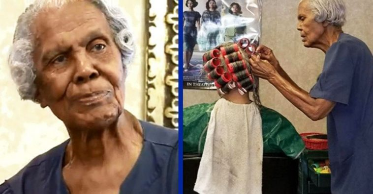 This 101-Year-Old Woman Is Still Working As A Hair Stylist
