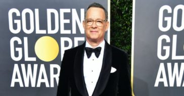 Tom Hanks Chokes Up Honoring His Family In Cecil B. DeMille Award Acceptance Speech